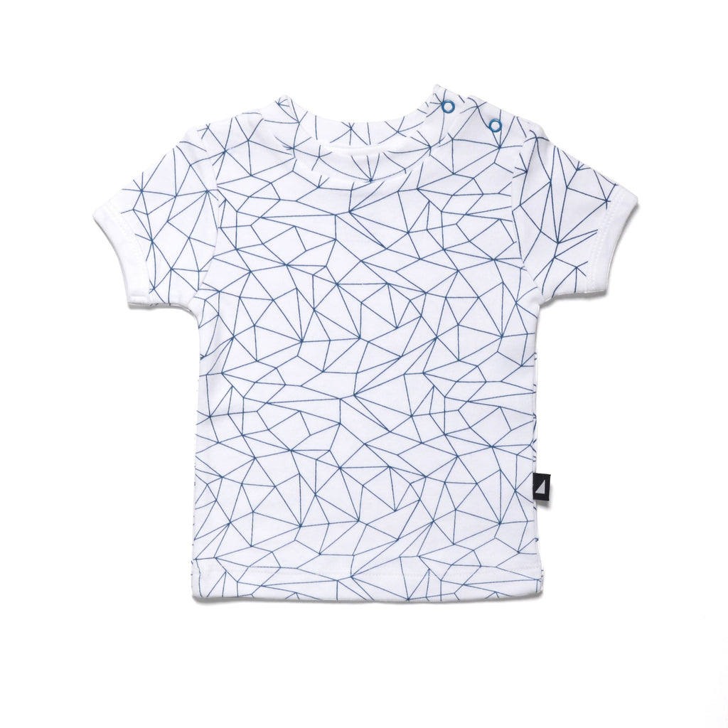 Anarkid (New Season) Fractured White/Navy Tee
