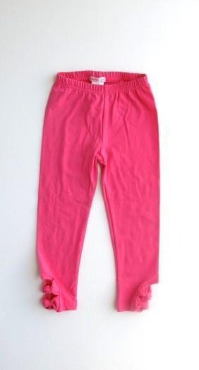 Papoose Leggings - Hot Pink Bow