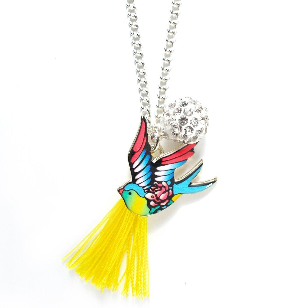 Lauren Hinkley Bright Bird Necklace