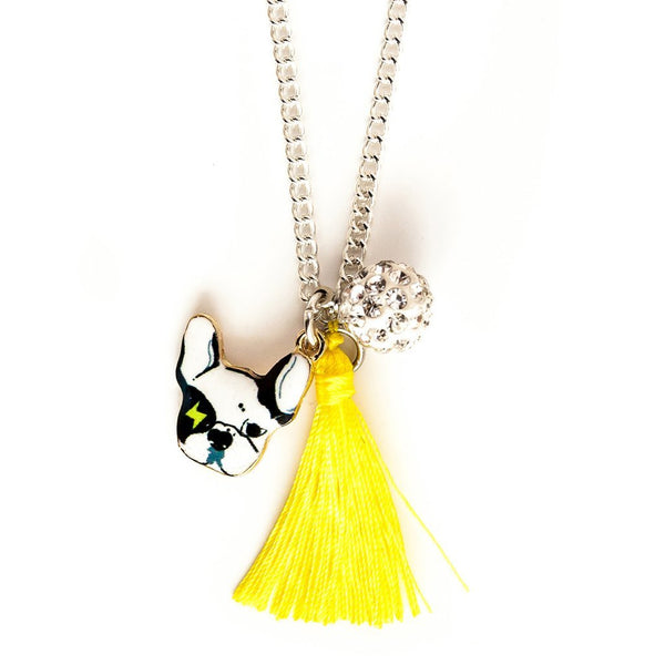 Lauren Hinkley Bulldog Necklace