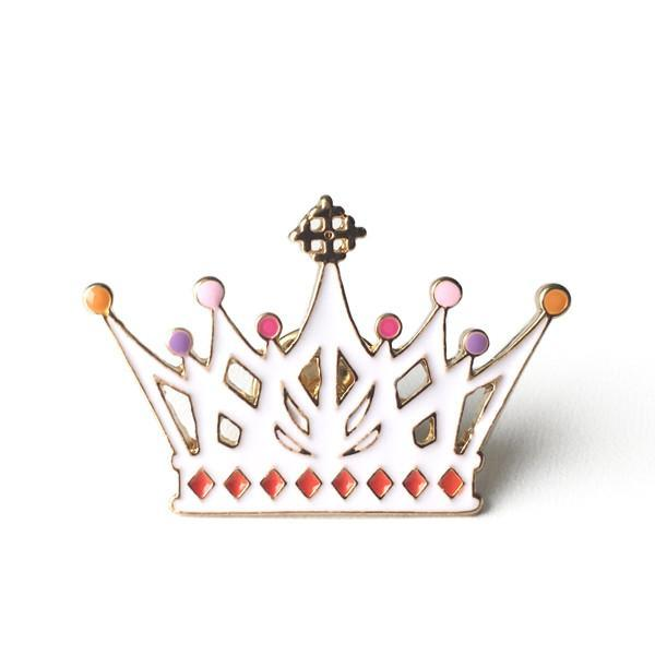 Lauren Hinkley Crown Pin