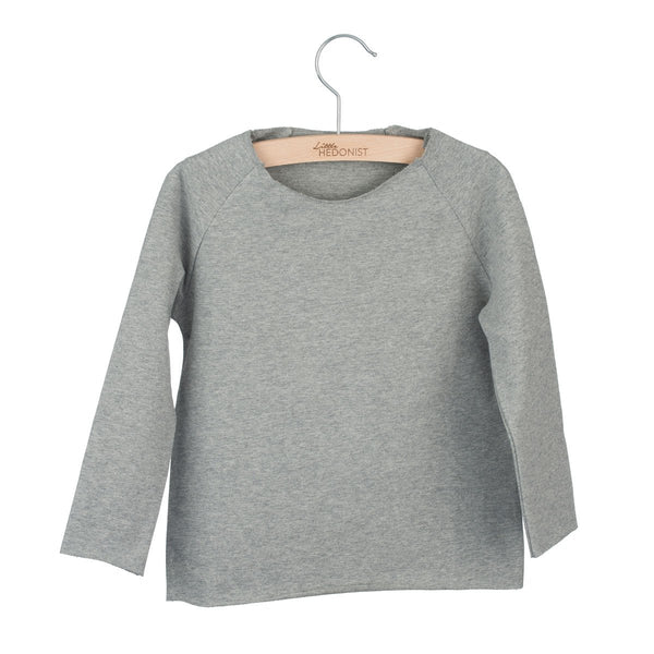 Little Hedonist Top Grey