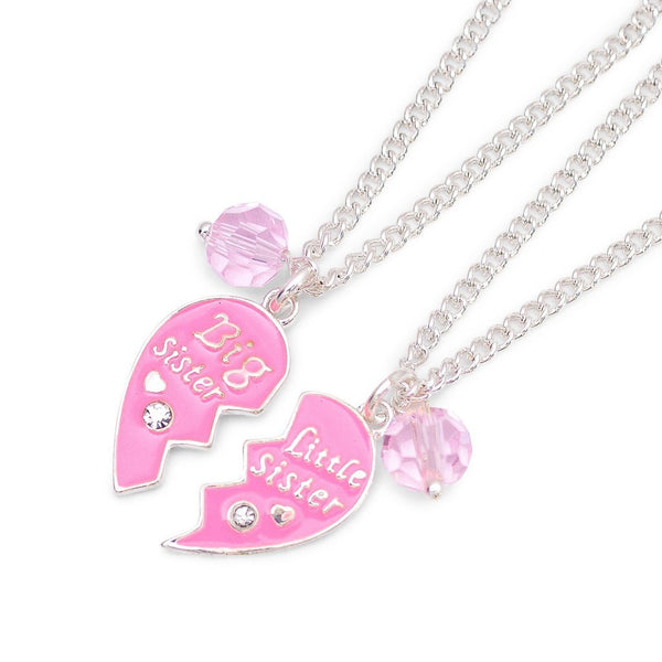 Lauren Hinkley Big Sister & Little Sister Heart Necklace Set