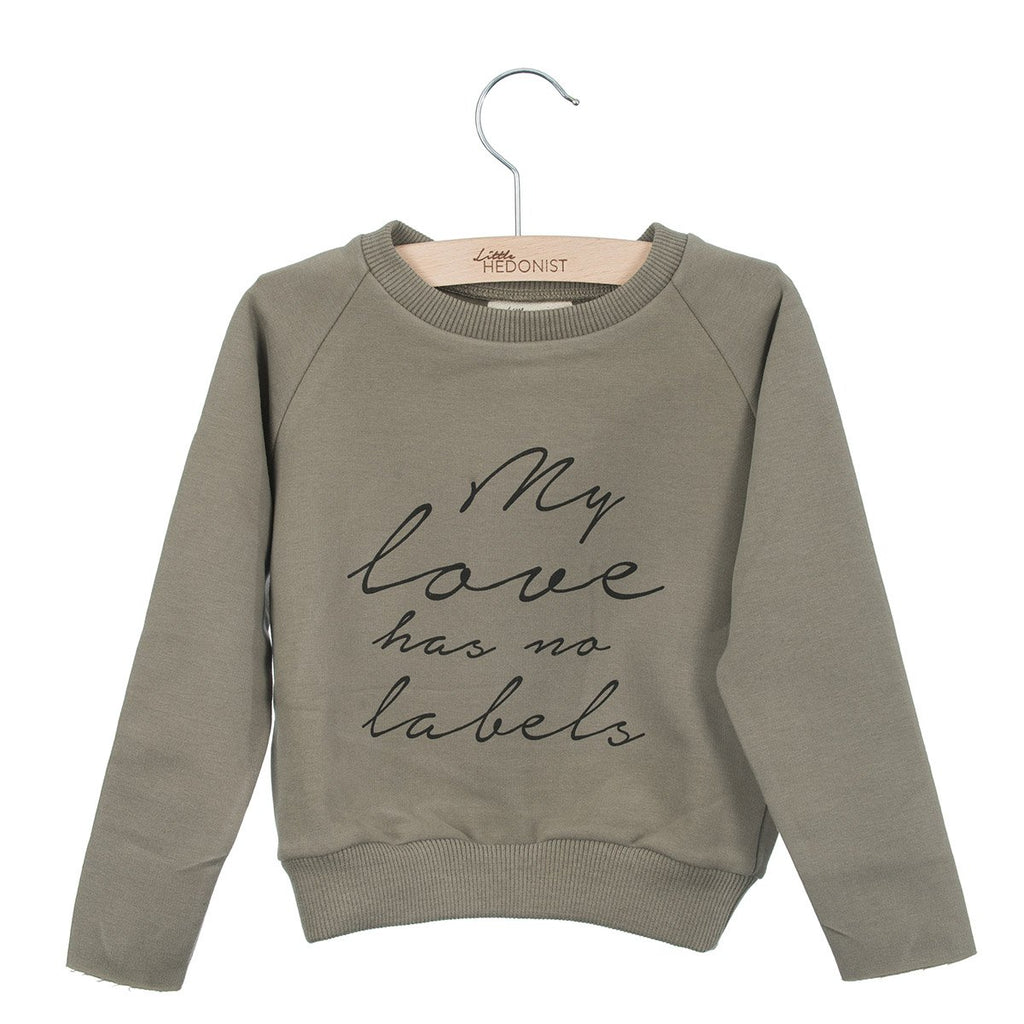Little Hedonist Sweater My Love Has No Labels Taupe
