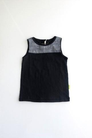 Morgan & Milo Bella Navy Tank Top