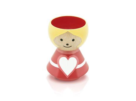 Lucie Kaas Egg Cup Girl in Red