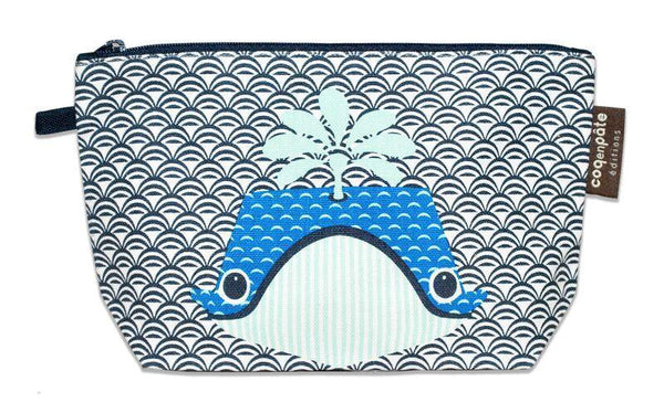 Coq en Pate Mibo Whale Pencil Case/Travel Bag