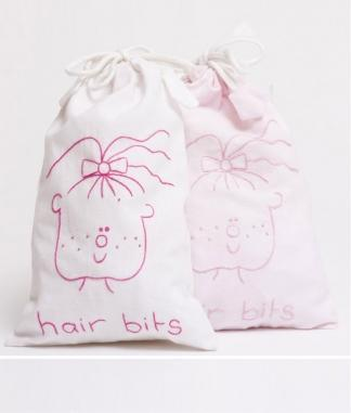Nana Huchy Hair Bits Bag - White
