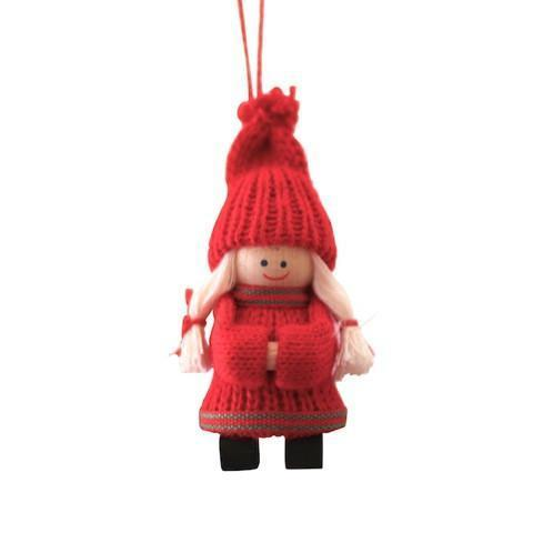 Nordic Santa Girl Decoration