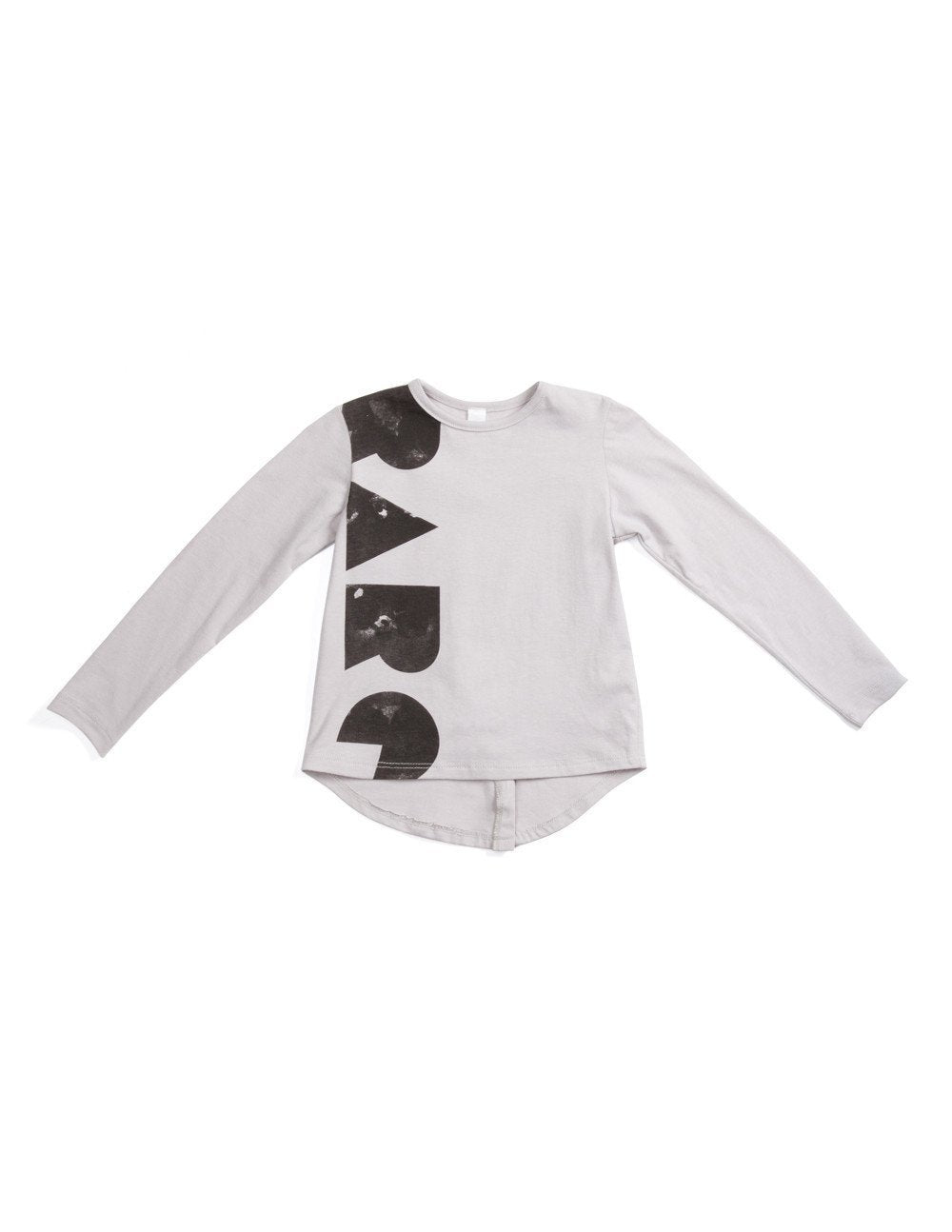 OMAMImini Rare Long Sleeve Light Grey