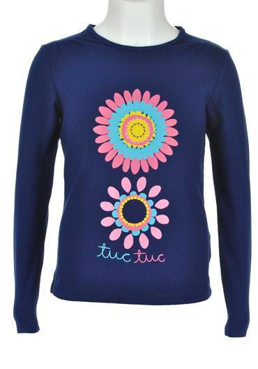Tuc Tuc Flower Long Sleeve Top