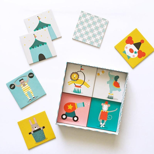 Paper & Pickles Memory Cards - Circus