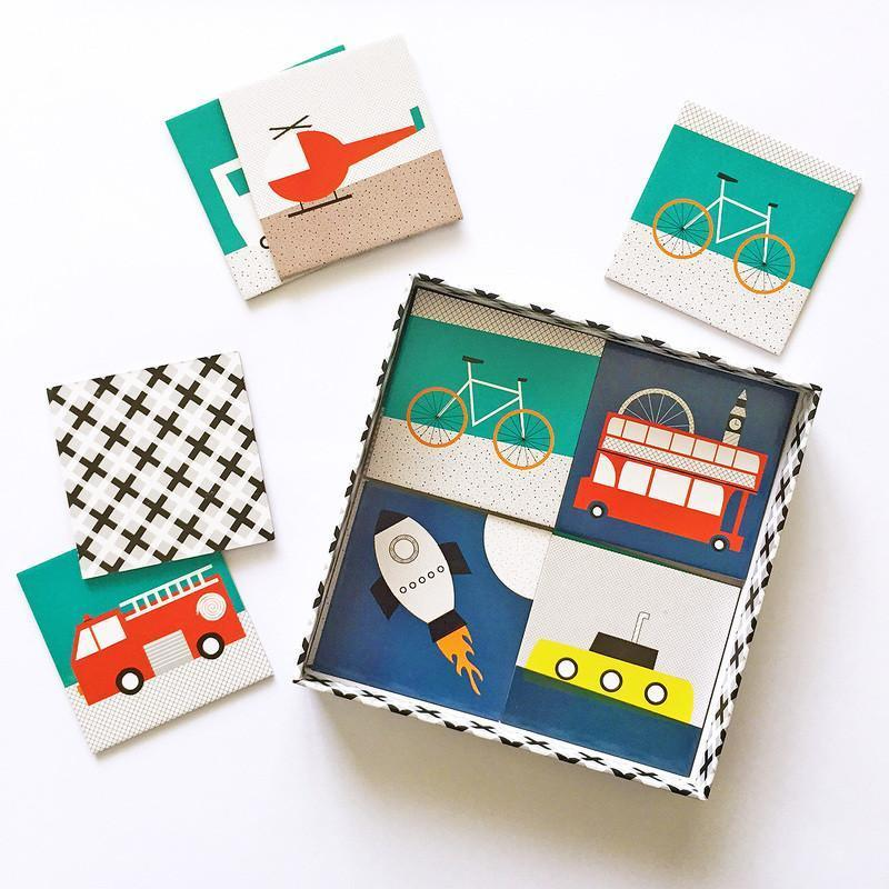 Paper & Pickles Memory Cards - Transport
