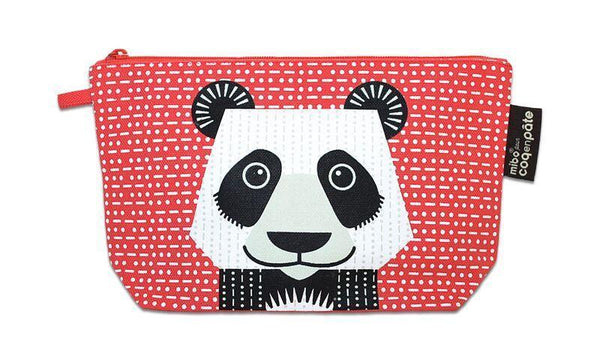 Coq en Pate Mibo Panda Pencil Case/Travel Bag