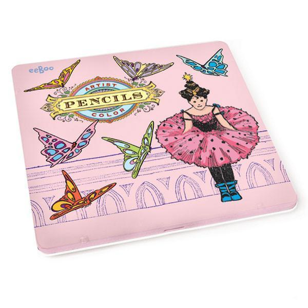 Rachel Ellen Princess Colouring Pencil Set