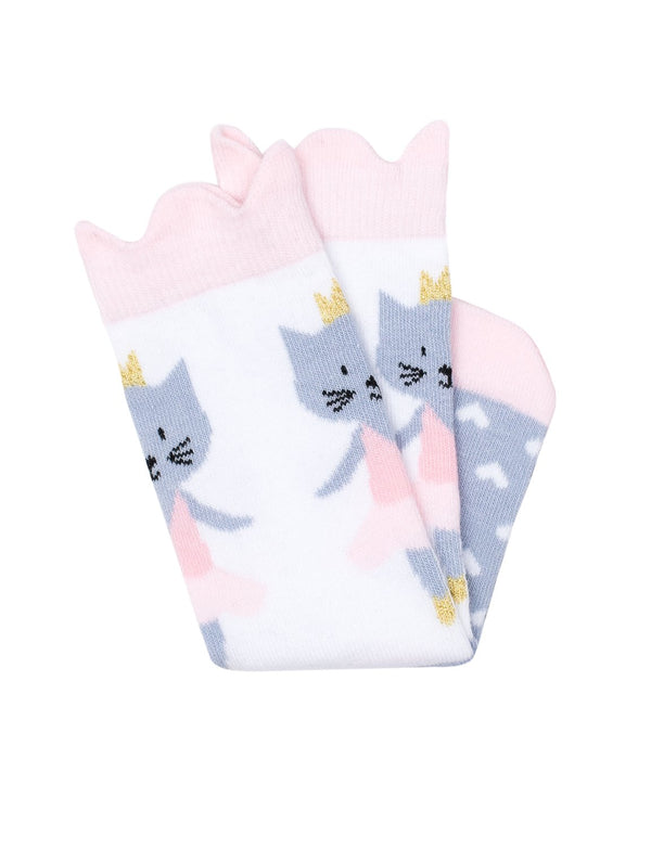 Billy Loves Audrey - Ballet Cat Midi Socks (Summer)