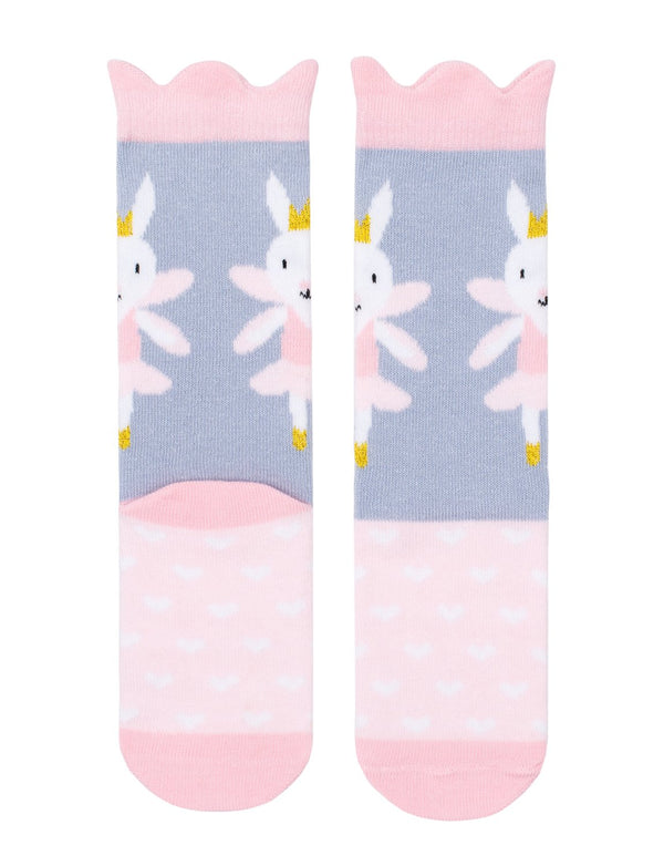 Billy Loves Audrey - Ballet Rabbit Midi Socks (Summer)