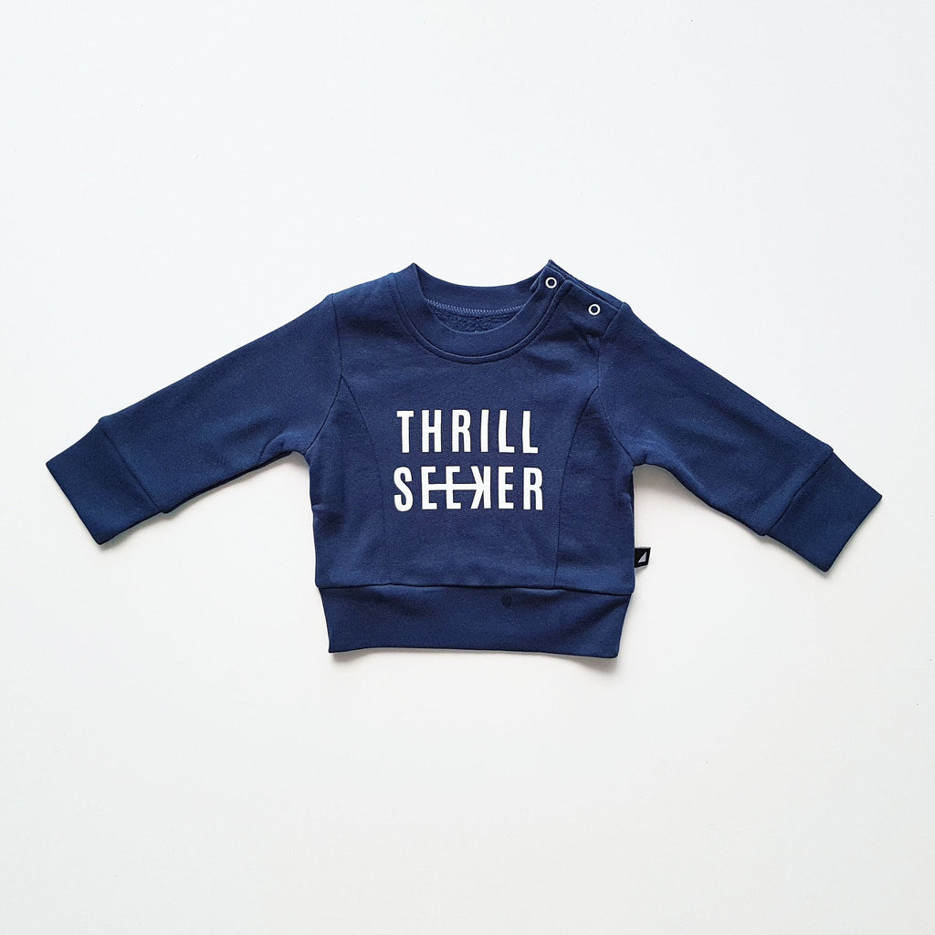 Anarkid AW17 Thrill Seeker Fleece Jumper - Ink Navy