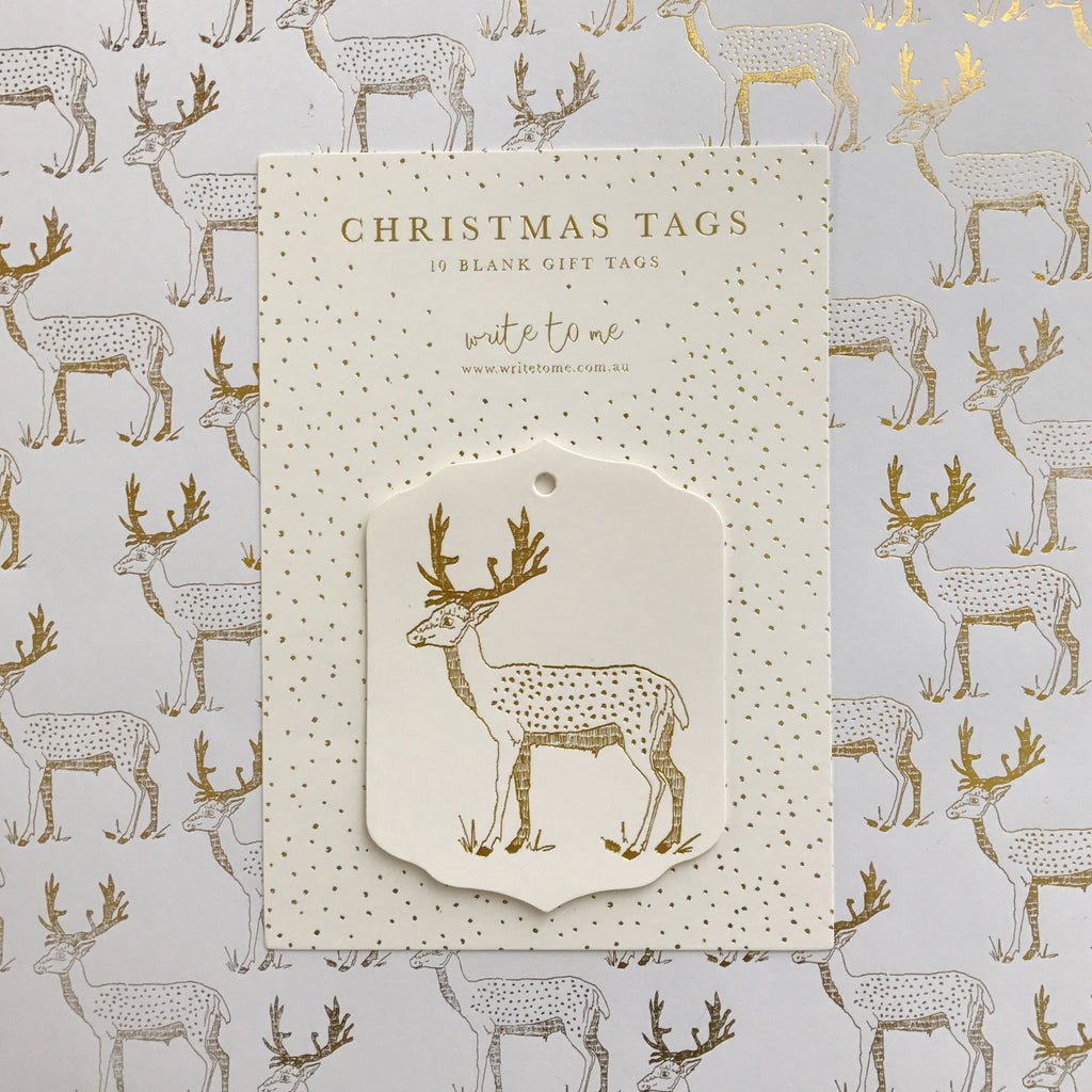 Merry Deer - Tag Pack