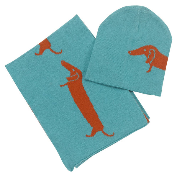 Pigeon Organics Hat & Scarf Set - Dog