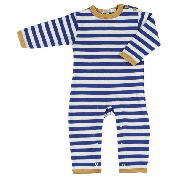 Pigeon Organics Baby Romper - Nautical Stripe