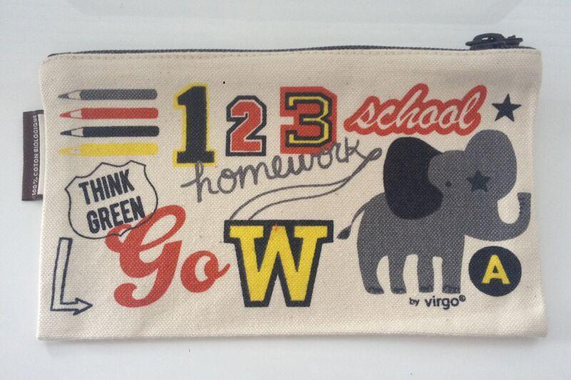 Coq en Pate Mibo Numbers Pencil Case / Pouch