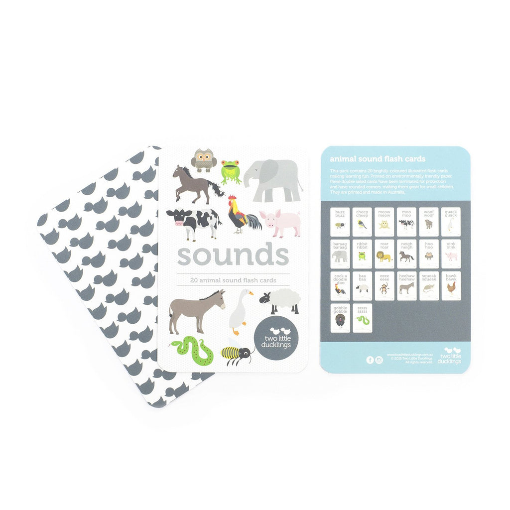 Two Little Ducklings Sounds Flashcards