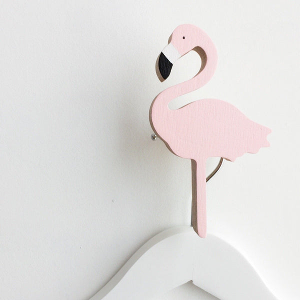 Knobbly Wall Hook Flamingo Miami