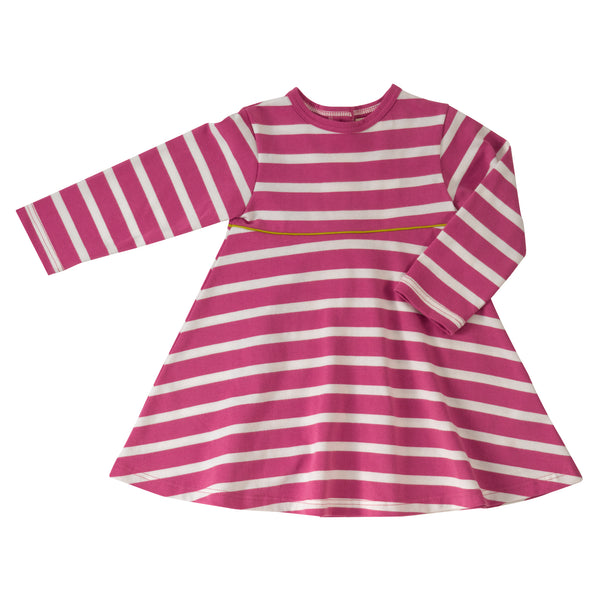 Pigeon Organics Breton Dress - Pink
