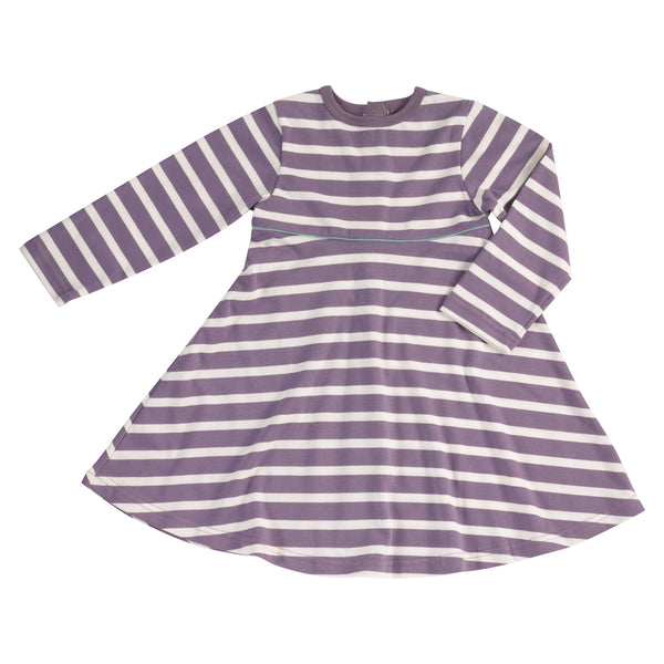 Pigeon Organics Breton Dress - Plum