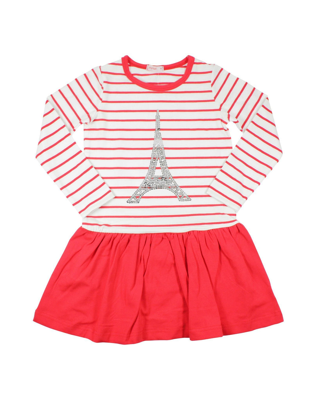 Papoose AW16 Eiffel Tower Red Dress