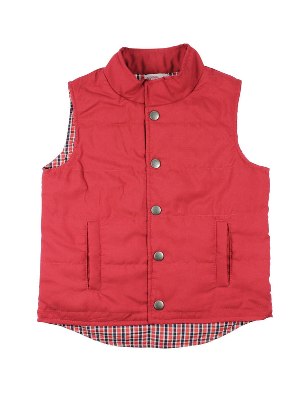Papoose AW16 Red Vest - Junior
