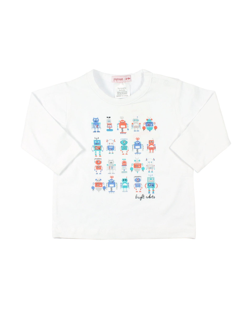 Papoose AW16 Little Boys Robot Tee