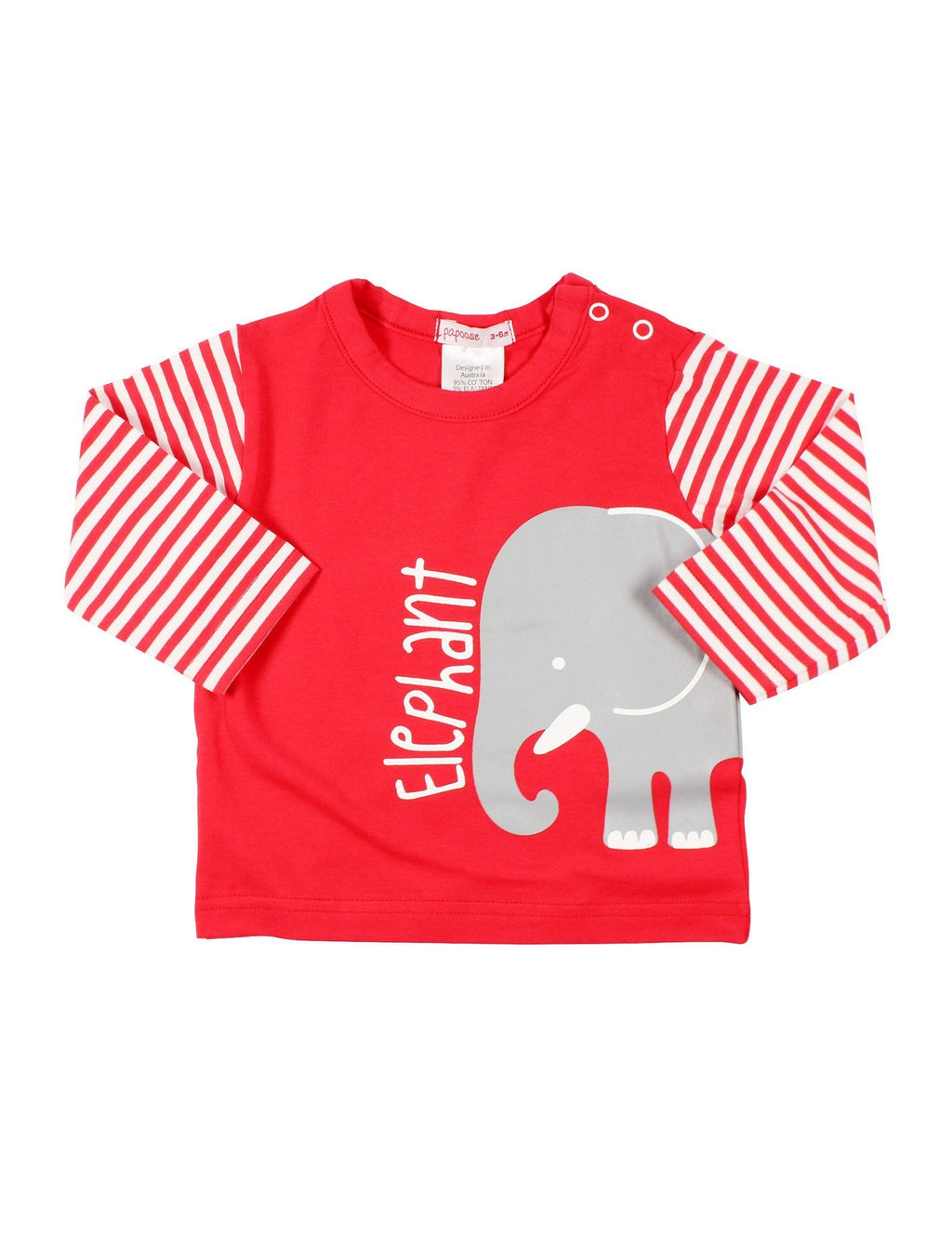 Papoose AW16 Little Boys Elephant Tee