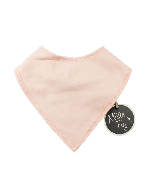 Mister Fly Dribble Bib Dusty Pink