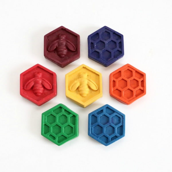 Tinta Honeycomb Crayons - Set of 5