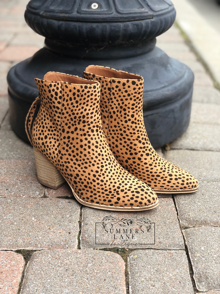Wendy Cheetah Bootie