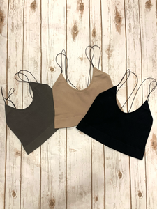 strappy little tanks