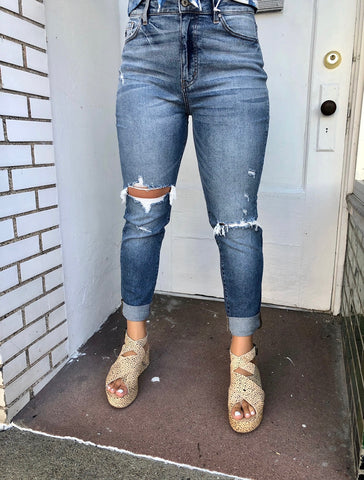 Ellie high rise denim