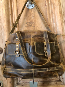 Lady's First Love Leather Hand Bag