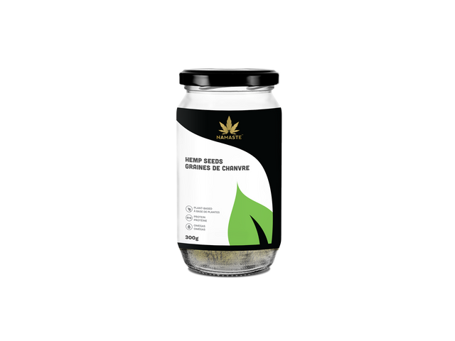 Namaste Organic Hulled Hemp Seeds 300g