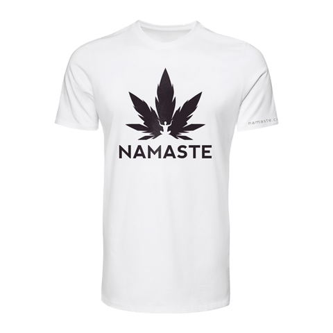Namaste Shirt White & Black