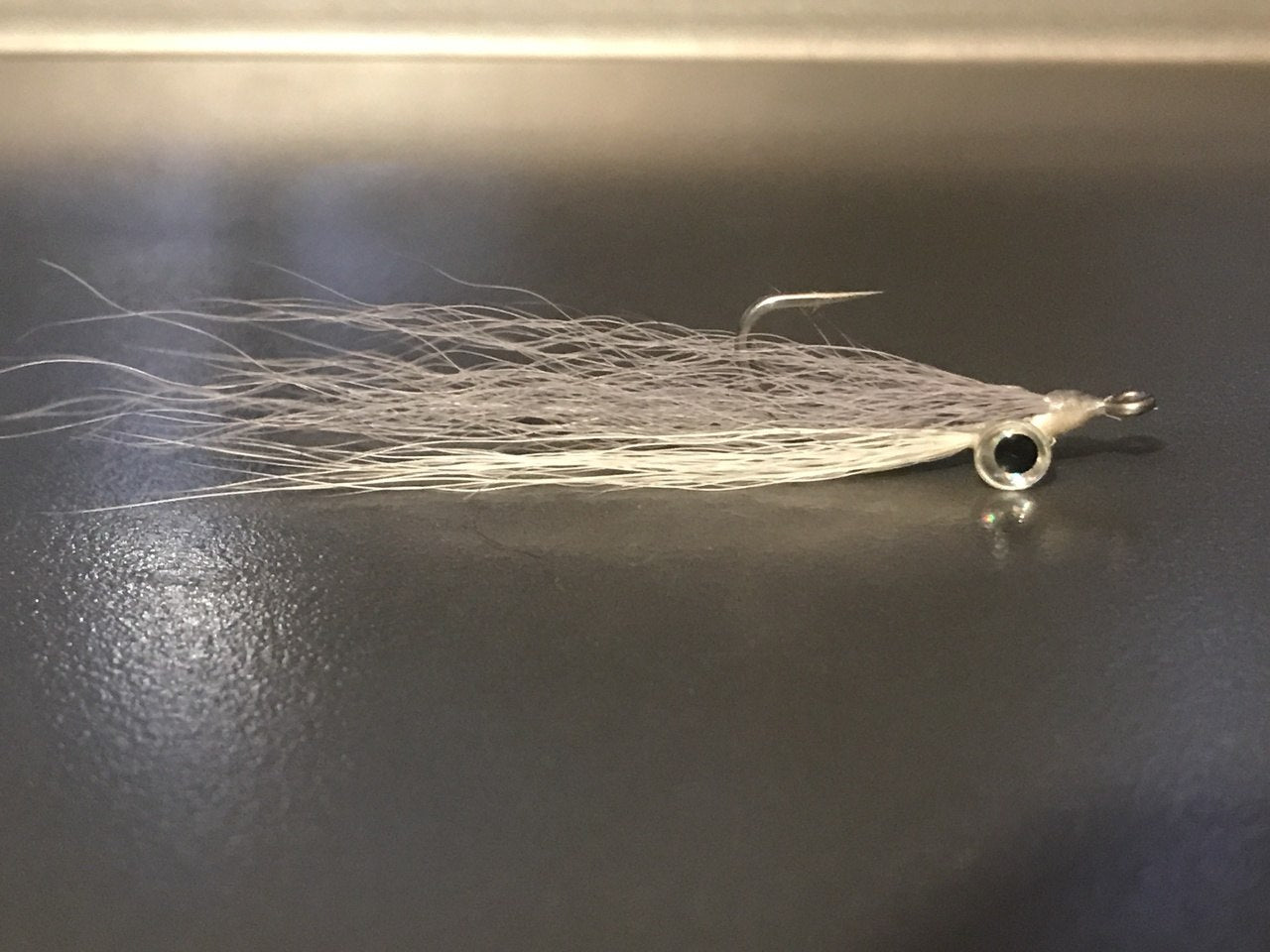 Clouser Minnow * White/Gray*