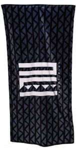 INU Beach Towel- White