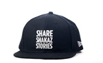 Share Shakaz Snap Back - Black