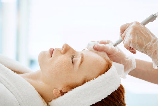 Microdermabrasion Hydrafacial