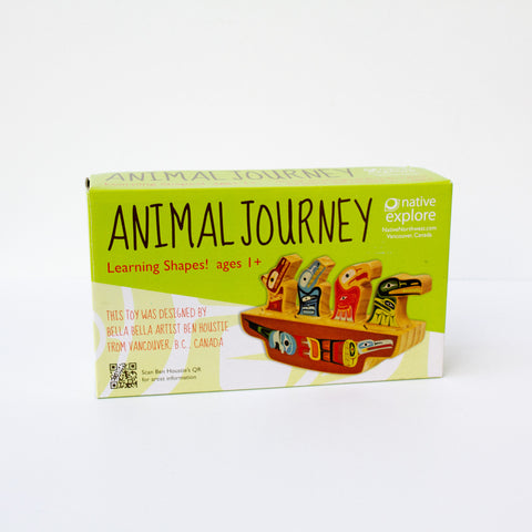 Animal Journey Shape Sorter