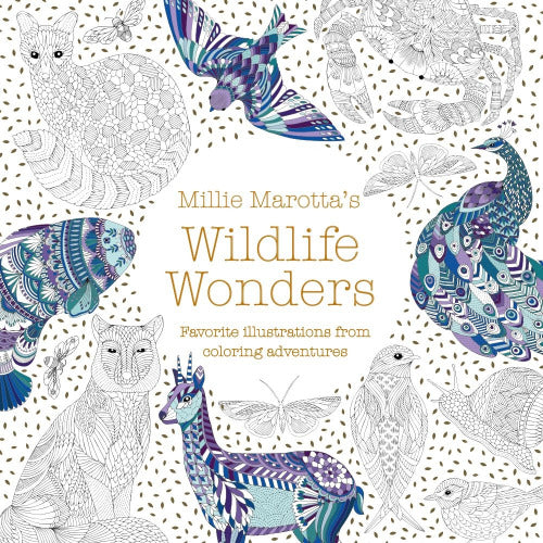 Millie Mariotta's Wildlife Coloring Book