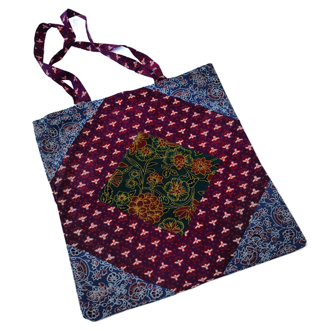 SAM Block Print Bag