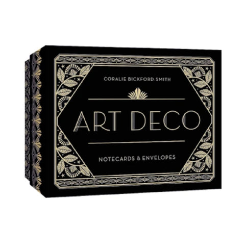 Art Deco Boxed Note Cards